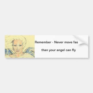 Angel Messenger Bumper Sticker