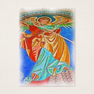 Angel Michael Gothic, Kaiser Wilhelm Church, Berli Business Card