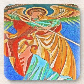 Ángel Michael gótico, iglesia de Kaiser Wilhelm, B Posavasos De Bebidas