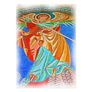 Ángel Michael gótico, iglesia de Kaiser Wilhelm, Tarjetas De Visita Grandes