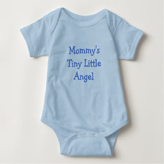 Ángel minúsculo de la mamá el pequeño remeras