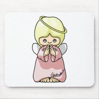 Angel Mischief Mousepads