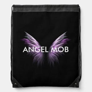 Angel Mob Drawstring Bag