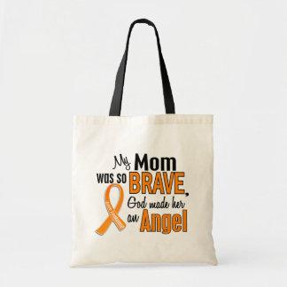 Angel Mom Leukemia Bags