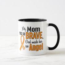 Angel Mom Leukemia Mug