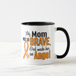 Angel Mom Leukemia Mug