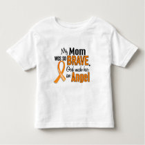 Angel Mom Leukemia Toddler T-shirt