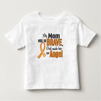Angel Mom Leukemia Toddler T-shirt