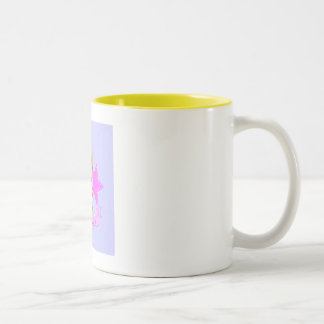 angel monkey Two-Tone coffee mug