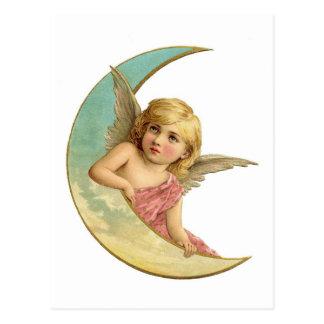 Angel Moon Postcard