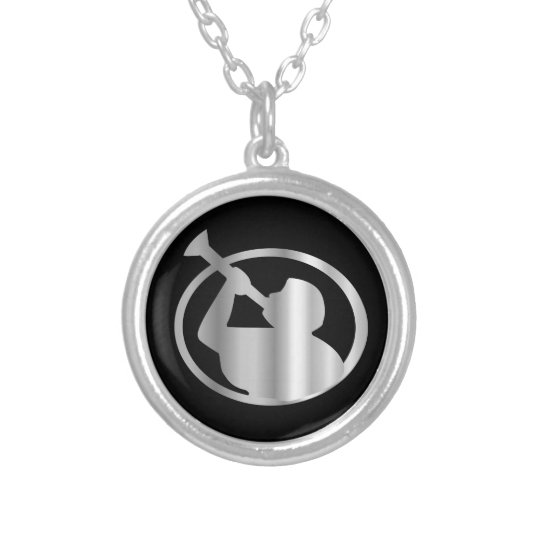 Angel Moroni A Symbol Of Mormonism Religion Silver Plated Necklace