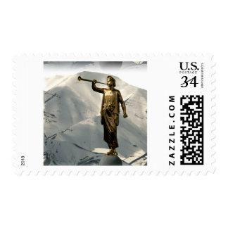Ángel Moroni de LDS Timbre Postal