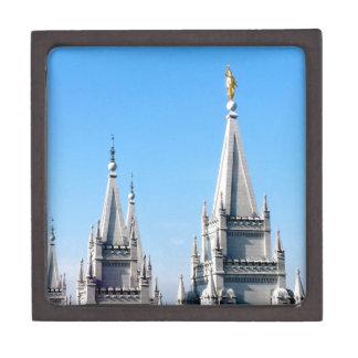 ángel Moroni del templo de Salt Lake City de los Cajas De Regalo De Calidad