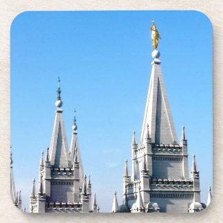 ángel Moroni del templo de Salt Lake City de los Posavasos De Bebida