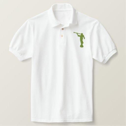 Angel Moroni Embroidered Polo Shirt