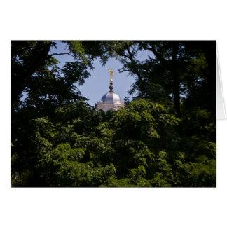 Angel Moroni Nauvoo Temple Card