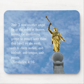 Angel Moroni on Salt Lake Temple Mouse Pad