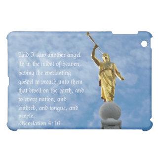 Angel Moroni on Salt Lake Temple Print iPad Mini Cases