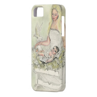 Angel mother baby iphonecase iPhone SE/5/5s case