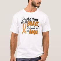 Angel Mother Leukemia T-Shirt