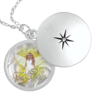 Angel Mother s Day Memory Necklace