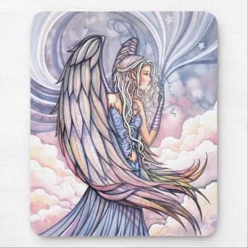 Angel Mousepad by Molly Harrison