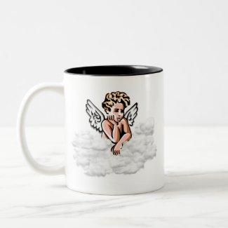 Angel mug mug
