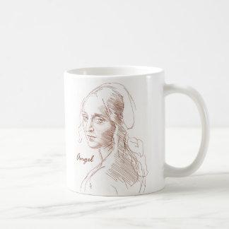 Angel Classic White Coffee Mug