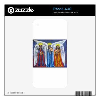 Angel Music Trio iPhone 4 Decal