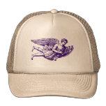 Ángel musical que vuela gorra