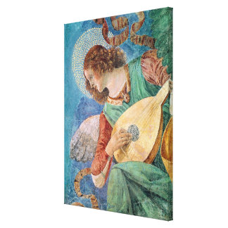 Angel Musician Canvas Print