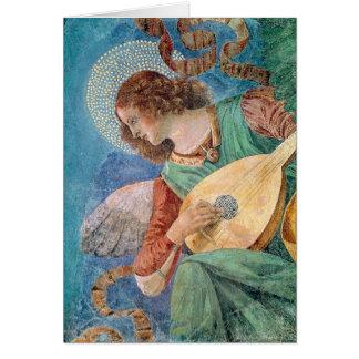 Angel Musician Card