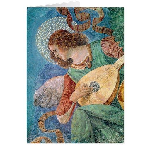 Angel Musician Cards