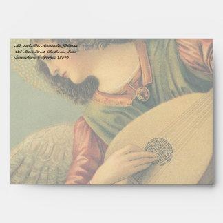 Angel Musician, Melozzo da Forli, Renaissance Art Envelopes