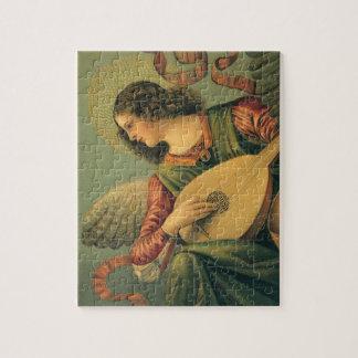 Angel Musician, Melozzo da Forli, Renaissance Art Jigsaw Puzzle
