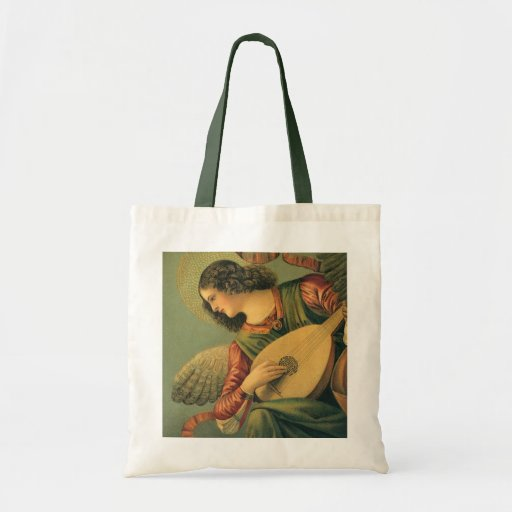 Angel Musician by Melozzo da Forli Renaissance Art Budget Tote Bag