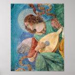 Angel Musician Poster