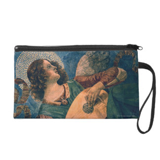 Angel Musician Wristlet Purse