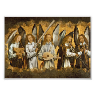 Angel Musicians c1480 Photo Print