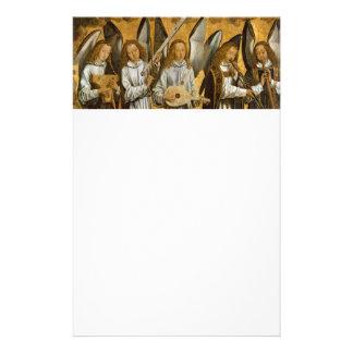 Angel Musicians c1480 Stationery