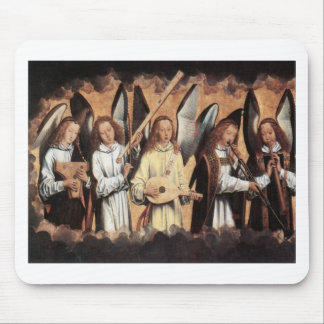 Angel Musicians Mouse Pad