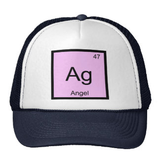 Angel Name Chemistry Element Periodic Table Trucker Hat