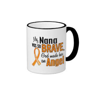Angel Nana Leukemia Coffee Mug