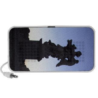 ANGEL NEAR VATICAN, ON PONTE SANT' ANGELO iPod SPEAKER