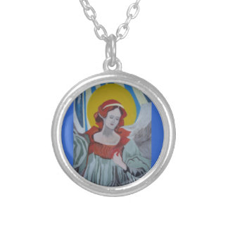 Angel Necklace Sterling Silver Plated