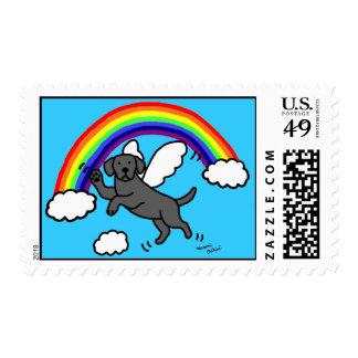 Ángel negro de Labrador (puente del arco iris) Envio