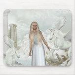 Angel Nele Unicorn Pegasi Beauty Mousepad