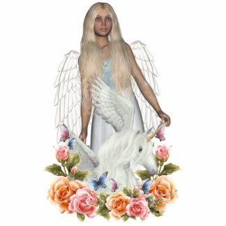 Angel Nele Unicorn Pegasi Beauty Photo Sculpture