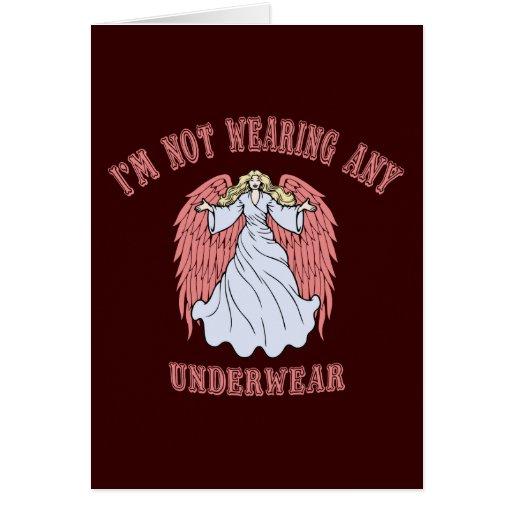 Angel No Undies Cards