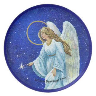 Angel Nocturne Plate